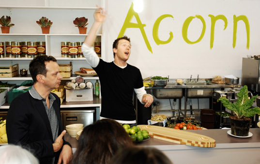 100percentdesign acorn, london eco friendly restaurant, london design festival, eco friendly food, green eats
