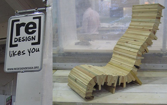 Redesign, london redesign, 100% design london, 100% futures london, london design festival, london design, green design UK, green design chairs, recycled materials