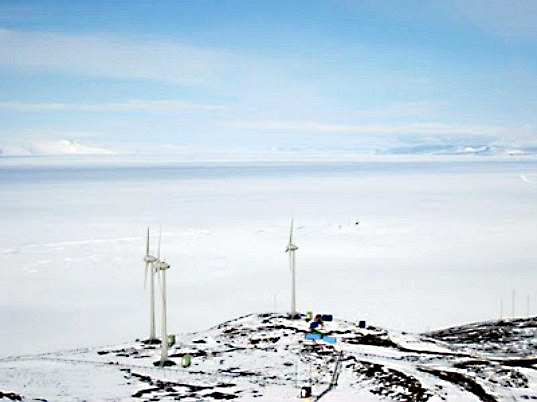 meridian energy, wind farm, antarctic wind farm, enercon, wind turbines, renewable energy,