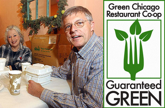 sustainable design, green design, dan rosenthal, green chicago restaurant co-op, sustainable food industry practices, united states largest composting plant, waste reduction, food waste composting