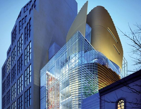 korean cultural center, New York, NYC, SAMOO, LEED, cultural center