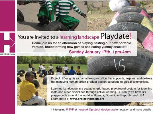 Learning Landscape Playdate in New York City
