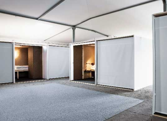 sustainable design, green design, zweidrei, palomar5 camp, recyclable materials, sustainable live/work space, berlin