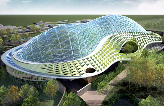 sustainable design, green design, green architecture, chester zoo, biodome, heart of africa, conservation, green design, eco design
