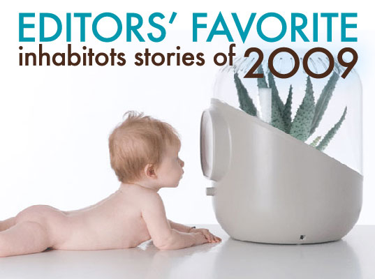 Favorite Inhabitots Stories, andrea air filter, eco baby, favorite green parenting stories of 2009, get breastfeeding off to good start, green baby, how to green your nursery, inhabitots editors favorite stories of 2009, Kaspa Ghost Lamp, twisttogether, twisttogther LED lamp, uroko house