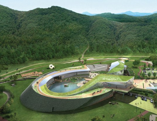 kyungam architects, jeju world natural heritage center, UNESCO Site, South Korea, Jeju Island