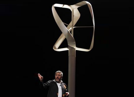 Philippe Starck Revolutionair Wind Turbine, wind turbine, eco design, sustainable design, wind energy, green design, clean energy, philippe starck