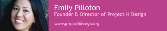 sustainable design, green design, green design predictions 2010, new year's predictions, emily pilloton, project h design