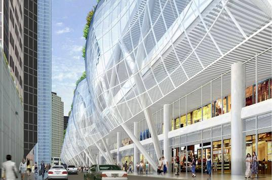 sustainable design, green design, transportation, pelli clarke pelli, transbay, sf, san francisco, transbay terminal