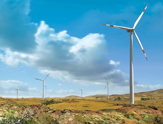 wind energy, solar energy, wind farm, photovoltaics, largest green energy project in the world, india, airvoice group, energy project, green energy plant