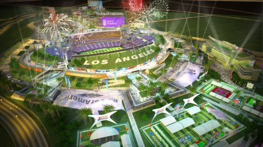 los angeles, la, la nfl stadium, nfl, nfl stadium, leed certified,  leed, eco stadium, recycling, materials reduction, sustainable  architecture, aedas