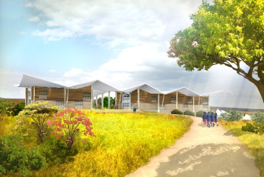malawi, madonna, raising malawi, academy, academy for girls, malawi academy for girls, Sustainable Building, solar power, natural ventilation, local materials, africa