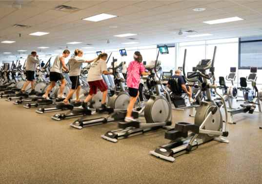 exercise, elliptical machines, human power, human generated power, renewable energy, zero carbon, zero energy, ReRev,