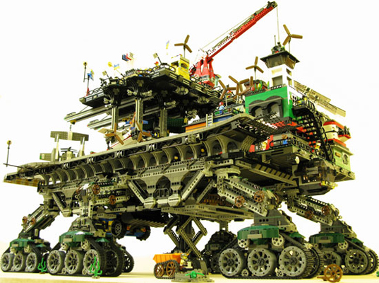 crawler city,  crawler town,  dave degobbi,  eco-punk,  lego,  lego crawler,  lego eco town, green kids, eco kids, green design for kids