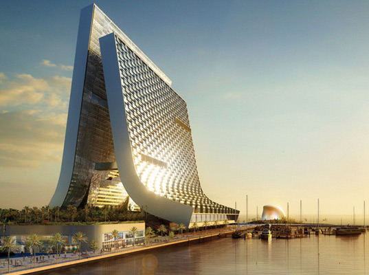 oppenheim, solar power, wind energy, clean energy, green design, green architecture, eco design, uae, united arab emirates, sustainable building, beach tower, beach marina tower