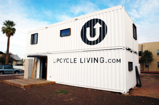shipping containers, shipping container housing, affordable housing, phoenix, upcycled living, temporary shelters, recycled materials, upcycled materials, eco residence