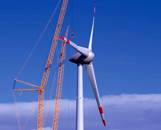 wind energy, renewable energy, wind turbine, world's largest wind turbine, norway, enova, sway, prototype