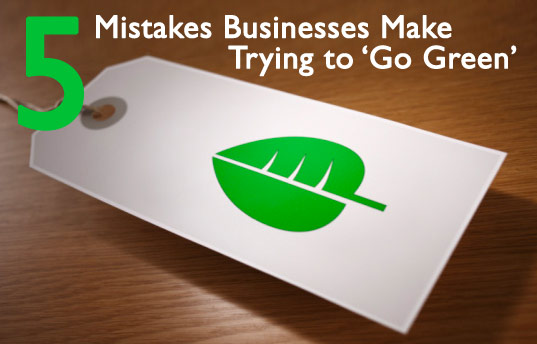 Green mistakes, greenwashing, green wash, green businesses, green business, green marketing, green leaf logo