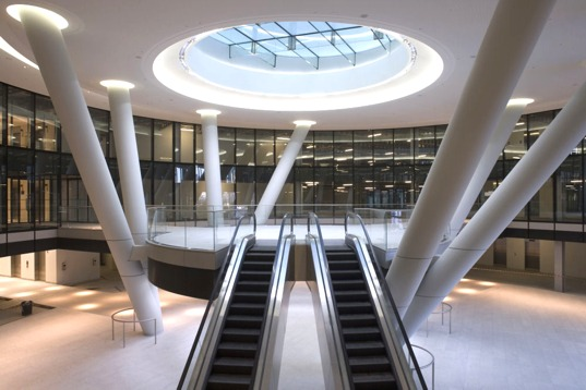 sustainable design, green design, BREEAM outstanding, pricewaterhousecooper, london, uk, sustainable architecture, green building, green office, eco friendly architecture