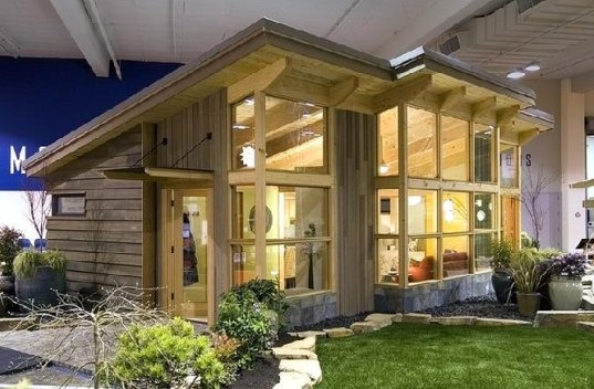 prefab, prefab housing, FabCab, timberframe house, timberframe construction, eco-friendly materials, eco-friendly furnishings, eco design, green design, sustainable building