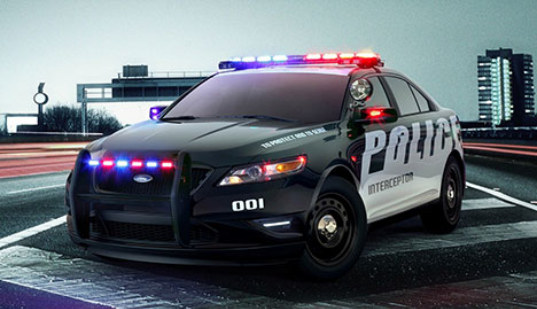 police, police car, cops, cop car, ford interceptor, ford, fuel efficient, increased fuel efficiency, V6, V8, green transportation, transportation, eco design, green design