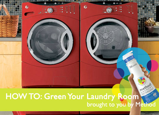 sustainable design, green design, green cleaning, method, energy-efficient appliances, green interiors, green laundry room, sustainable cleaning products, smarter laundry room, high-efficiency machines