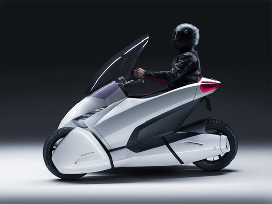 Honda 3R-C, Honda Personal Urban Vehicle, Honda concept motorcycle, Honda electric vehicle, electric vehicle, Cool concept car, geneva auto show, eco design, green design, sustainable design