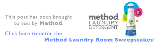 eco-friendly laundry, tips and techniques, sustainable design, green design, green laundry, sustainable laundry tips, energy efficient laundry, water conservation, green home tips and tricks, method, laundry, laundry room, method laundry room makeover