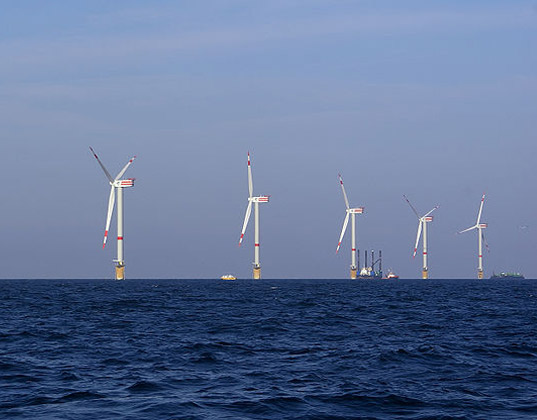 wind turbines, wind, energy, wind farm, land, water, temperature, global warming, climate change, mit, research