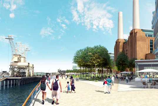 Battersea power plant, Rafael Viñoly Architects, green renovation, sustainable design, green design, green building, sustainable architecture, adaptive reuse
