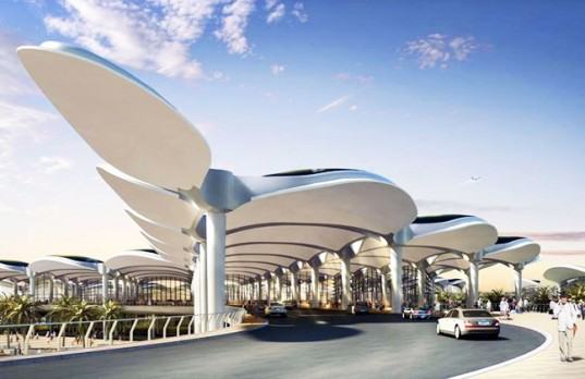 Energy Efficient Queen Alia Airport By Foster Partners