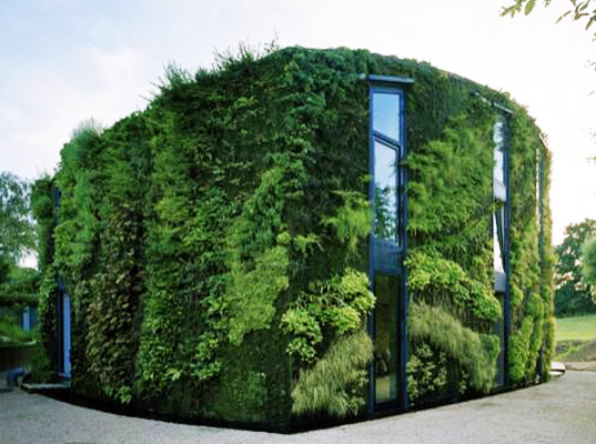 sustainable design, green design, green building, sustainable architecture, vertical garden, patrick blanc, green wall, energy efficient architecture