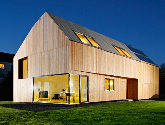 Gorgeous Wood Clad German Home With Near Passive House Performance Inhabitat Sustainable
