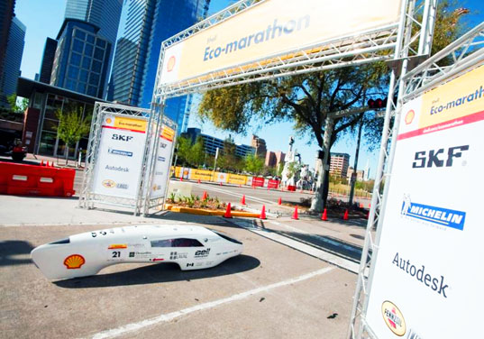 laval university, prototype, shell eco marathon, mpg, vehicles, fuel efficiency, green design