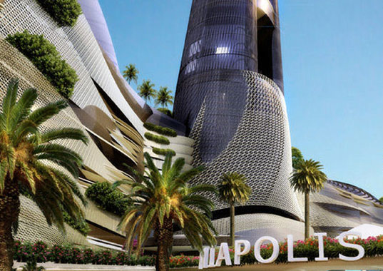 miapolis, miami, burj khalifa, kobi karp, leed, watson island, green design, green building, eco design, sustainable building, leed certification, carbon sequestration, green roof, kobi karp