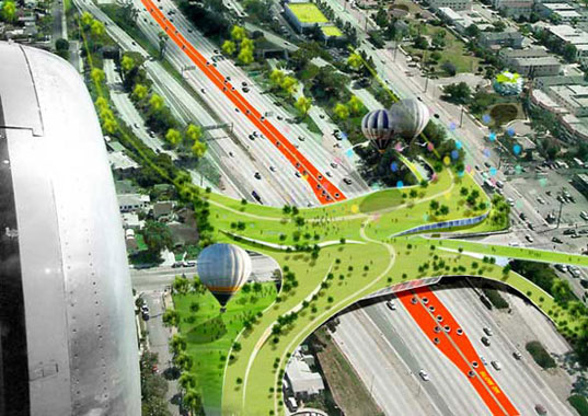 Architects Envision Green Transportation Solutions For Los Angeles Inhabitat Sustainable