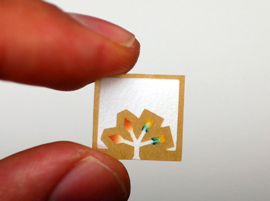 Paper Diagnostic Chip by George Whitesides, medical innovations, medical diagnostics, lab on a chip, Whitesides Research Group, developing countries, low tech