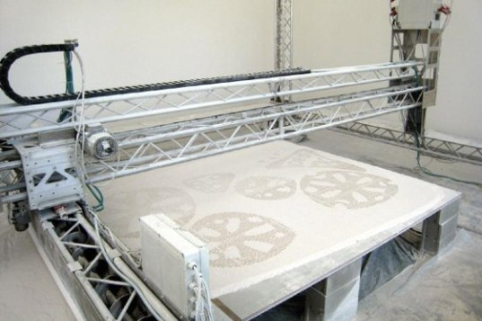 3-D Printer Creates Entire Buildings From Solid Rock