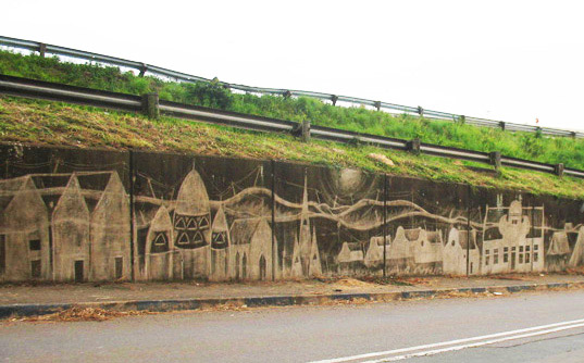 street art, clean graffiti, green graffiti, reverse graffiti, green street art, eco street art, durban, eco design, green design, sustainable design, scrubbing, green art eco art