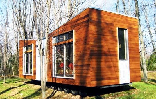 prefab, prefab friday, prefab home, butterfly roof, solar passive design, low VOC, non-toxic materials, sustain design studio, ontario, Trio, eco design, green design, sustainable building