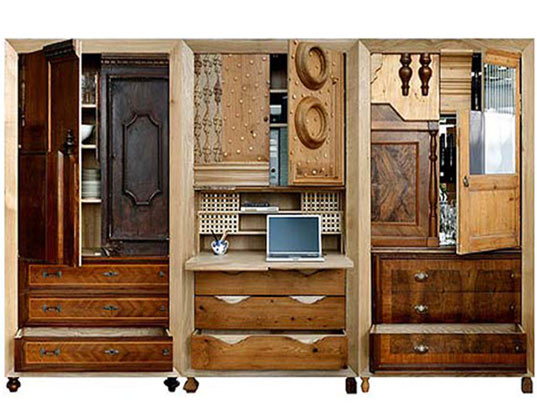 Patchwork Cupboard Is A Stunning Example Of Modern Day