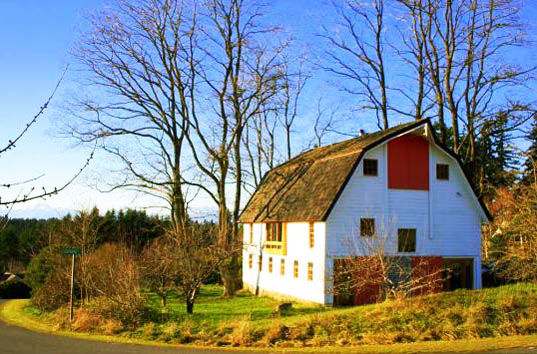 barn renovation, converted barn, renovated barn, eco-friendly renovation, green renovation, green building, sustainable building, don frothingham, bainbridge island homes