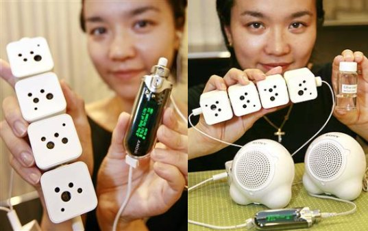 sugar, battery, power, electricity, sony, electronics, gadgets, power source, renewables, gadget, electronic, mp3 player, speaker