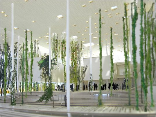 herzog and de meuron, LEED, LEED silver certification, hanging gardens, natural lighting
