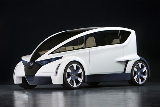 sustainable design, green design, green transportation, LA Auto Show, Honda P-Nut, Green Car, Green Transportation
