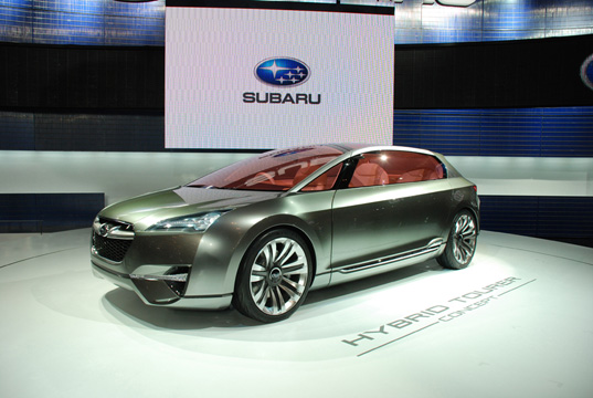 sustainable design, green design, green transportation, LA Auto Show, Green Car, Green Transportation Subaru Hybrid Tourer