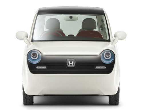 sustainable design, green design, transportation, electric vehicles, alternative transportation, honda, ev-n, concept car, tokyo