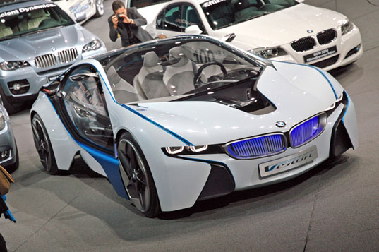 Frankfurt Motor BMW concept diesel hybrid electric efficient, autos, frankfurt car show green cars, green autos, eco cars, alternative fuel, concept cars