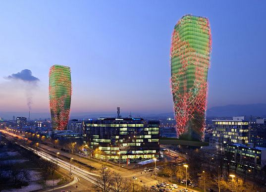 architecture, biofuel, biofuel producing towers, croatia, biooctanic, feedstock, UPI 2M
