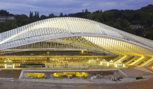 santiago calatrava, tgv rail station, belgium, Liège Guillemins Station, Liège, high-speed rail, high speed rail station, high speed rail, calatrava